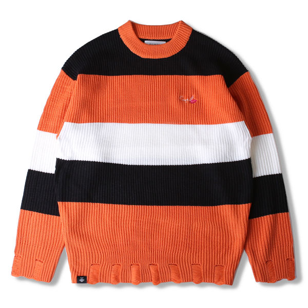 DOWBL/ ダブル/ Trichromatic Spring Knit 【全2色】