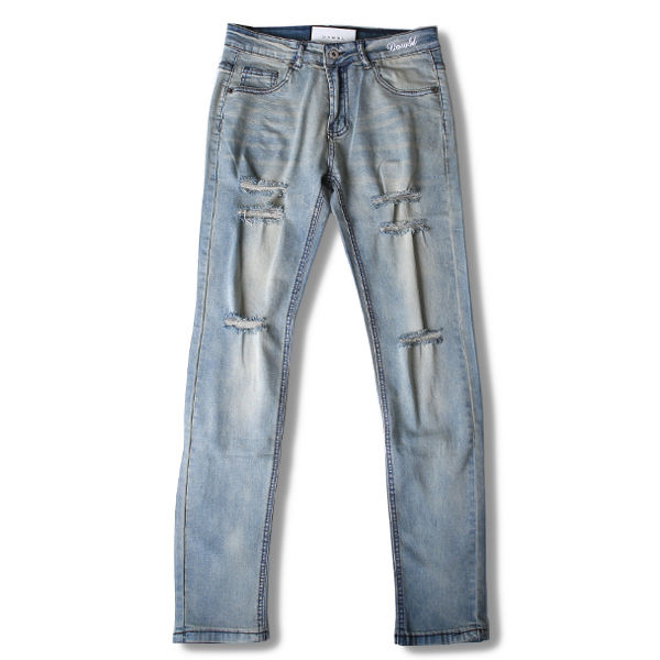 DOWBL/ ダブル/ Improves Damage Clash Denim 【全1色】