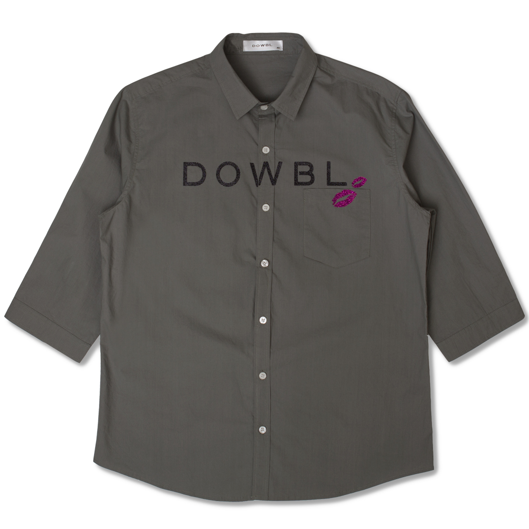DOWBL/ ダブル/ Bacio Color Shirt【全3色】