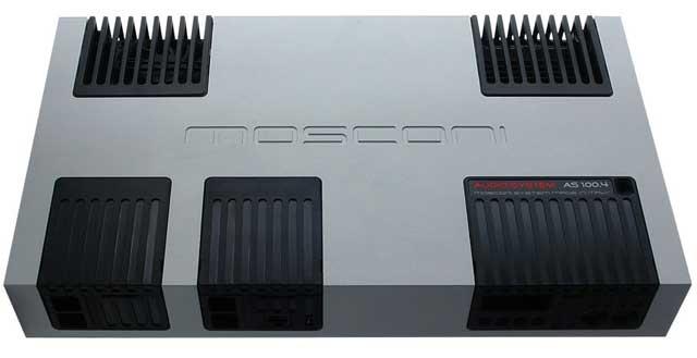 圧倒的な情報量と高音質再生能力 繊細な音質表現に最適正規輸入品MOSCONIモスコニAS100.44チャンネルパワーアンプ