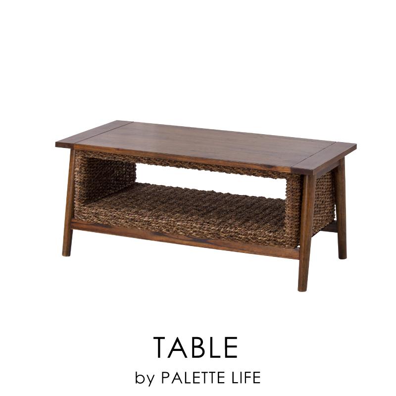 ローテーブル センターテーブル おしゃれ テーブル コーヒーテーブル ラタン 100cm 新生活