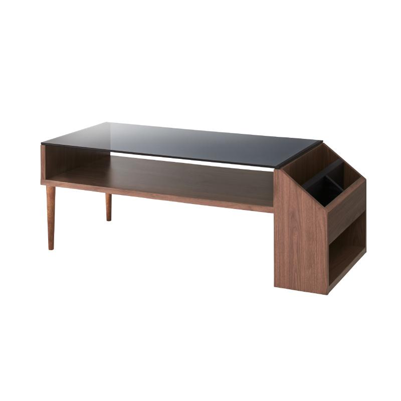 ローテーブル センターテーブル ガラステーブル おしゃれ 木製 収納 マガジンラック