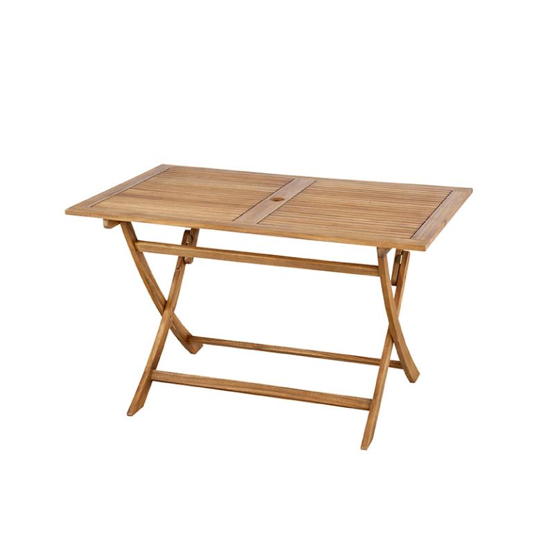 テーブル 折りたたみ アウトドア レジャー ガーデン 机 120cm 木製