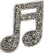 音楽好き必見 音符やト音記号 バッジ パーティー 演奏会 におすすめ ステージ 発表会 スーパーSALE セール期間限定 衣装 音楽シリーズ 送料無料でお届けします