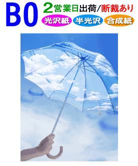 B0 ポスター印刷 1枚 光沢 半光沢 出群 合成紙 日本最大級の品揃え 2営業日目出荷 化粧断裁を含む