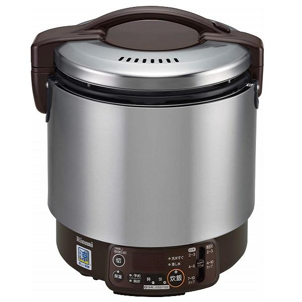 お取り寄せ RR-S100VMT-LP 業務用ガス炊飯器 プロパンガス用 Rinnai リンナイ 1升炊き ジャー付 涼厨タイプ タイマー付専用ガスコード接続 RRS100VMTLP