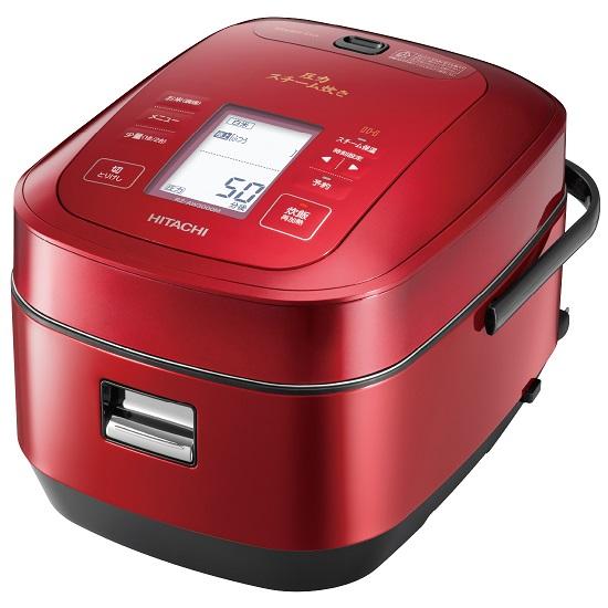 RZ-AW3000M-R IHジャー炊飯器 HITACHI 日立 圧力スチーム炊き ふっくら御膳 5.5合炊き RZAW3000MR メタリックレッド