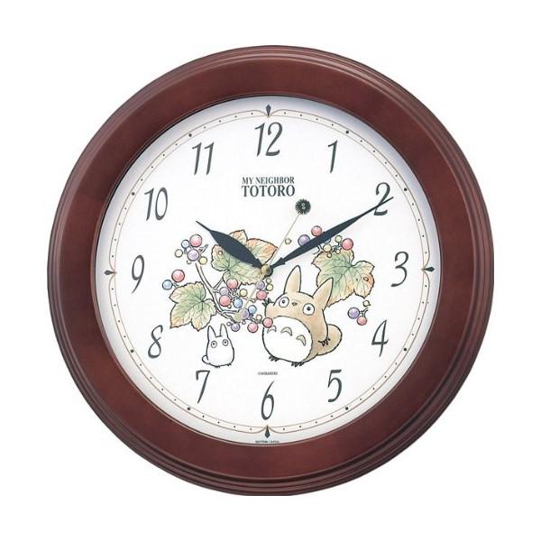 お取り寄せ 4KG690MA06 壁掛け時計 リズム時計工業 トトロM690A 壁掛け時計 壁掛時計 壁かけ時計