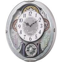 お取り寄せ 4MN537RH04 電波からくり掛時計 リズム時計 スモールワールドビスト 壁掛け時計 電波時計 電波掛け時計 電波掛時計 壁掛時計 かけ時計 壁掛け電波時計 電波壁掛け