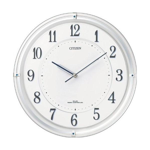 お取り寄せ 4MY817-003 壁掛け時計 シチズン CITIZEN 電波時計 サイレントソーラーM817 4MY817003 シチズン時計 電波掛け時計 電波掛時計 壁掛時計 かけ時計 壁掛け電波時計 電波壁掛け時計