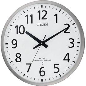お取り寄せ 8MY463-019 CITIZEN シチズン 壁掛け時計 電波時計 オフィスクロック スペイシーM463 8MY463019 シチズン時計/電波掛け時計/電波掛時計/壁掛時計/かけ時計/壁掛け電波時計/電波壁掛け時計