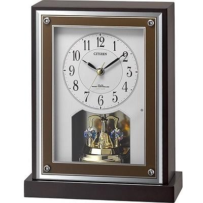 【お取り寄せ】8RY413-006 電波置時計 CITIZEN シチズン 8RY413006 置き時計 電波時計 電波置き時計 電波置時計 おき時計 卓上時計 卓上電波時計 テーブルクロック デスククロック