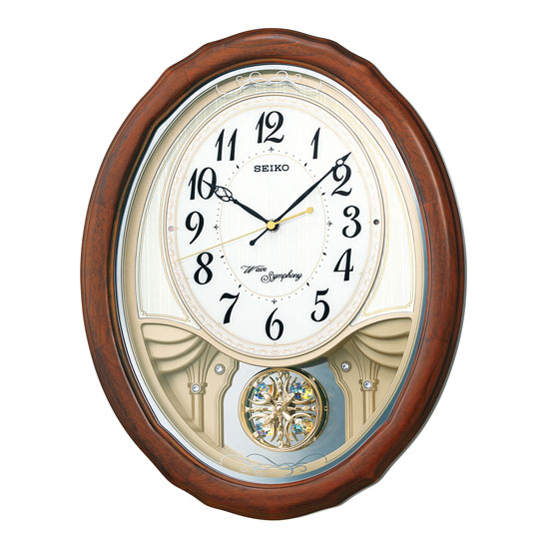 お取り寄せ AM257B 掛時計 SEIKO セイコー アミューズ掛時計 壁掛け時計 電波時計 電波掛け時計 電波掛時計 壁掛時計 かけ時計 壁掛け電波時計 電波壁掛け