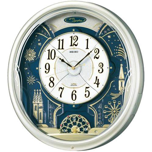 SEIKO セイコー 壁掛け時計 電波時計 Wave Symphony ウェーブシンフォニー RE561H セイコー時計/電波掛け時計/電波掛時計/壁掛時計/かけ時計/壁掛け電波時計/電波壁掛け時計