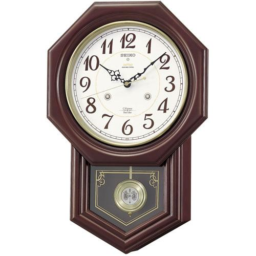 SEIKO セイコー 壁掛け時計 電波時計 Chime&Strike チャイム&ストライク RQ205B セイコー時計/電波掛け時計/電波掛時計/壁掛時計/かけ時計/壁掛け電波時計/電波壁掛け時計
