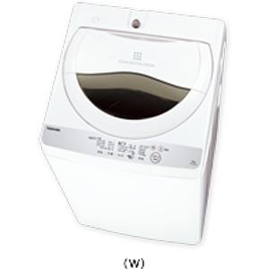 【4月23日入荷予定】【時間指定不可】【離島配送不可】AW-5G6-W 全自動洗濯機 TOSHIBA 東芝 洗濯・脱水容量5kg AW5G6W グランホワイト