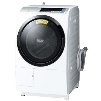 【日時指定不可】【離島配送不可】BD-SV110BL-S ドラム式洗濯乾燥機 HITACHI 日立 ビックドラム 左開き 洗濯・脱水容量11kg/洗濯~乾燥・乾燥容量6kg BDSV110BLS シルバー