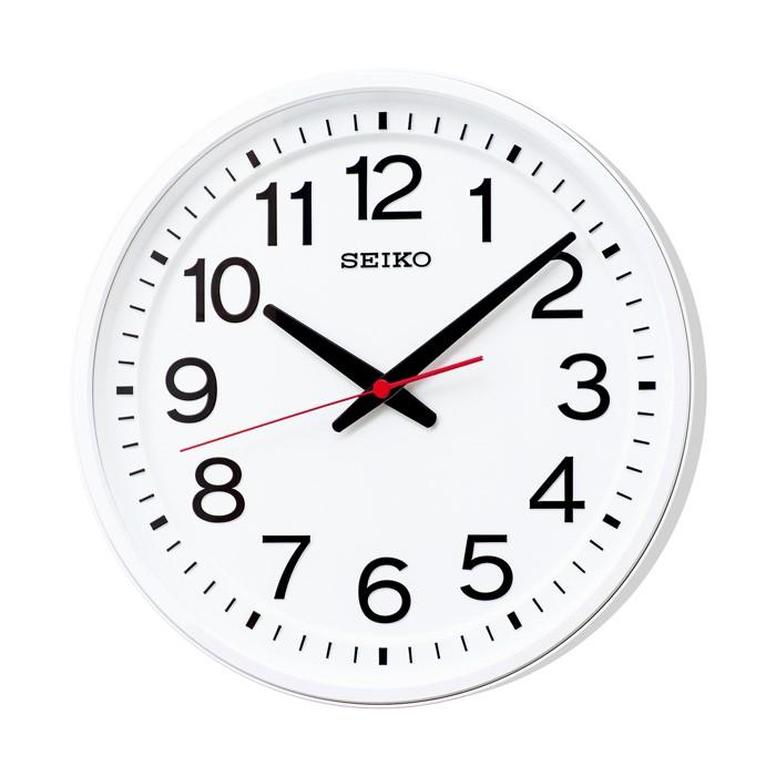お取り寄せ GP219W 電波掛時計 SEIKO セイコー 衛星電波オフィス時計 壁掛け時計 電波時計 電波掛け時計 電波掛時計 壁掛時計 かけ時計 壁掛け電波時計 電波壁掛け