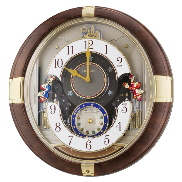 【お取り寄せ】RE816B からくり時計 SEIKO セイコー 壁掛け時計 壁掛時計 壁かけ時計