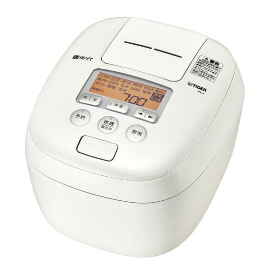 JPC-B182-WM 炊飯器 圧力IH炊飯ジャー TIGER タイガー 炊きたて 1升炊き JPCB182WM ミルキーホワイト【KK9N0D18P】