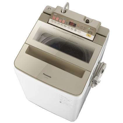 【時間指定不可】【離島配送不可】NA-FA90H6-N 全自動洗濯機 Panasonic パナソニック 洗濯・脱水容量9kg NAFA90H6N シャンパン