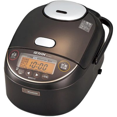 NP-ZS10-TD 圧力IH炊飯ジャー ZOJIRUSHI 象印 極め炊き 5.5合炊き NPZS10TD ダークブラウン