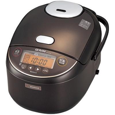 NP-ZS18-TD 圧力IH炊飯ジャー ZOJIRUSHI 象印 極め炊き 1升炊き NPZS18TD ダークブラウン