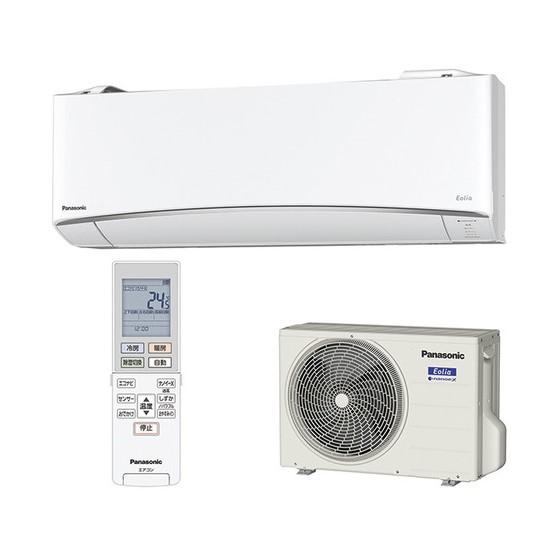 【時間指定不可】【離島配送不可】CS-EX408C2-W ルームエアコン Panasonic パナソニック Eolia(エオリア) EXシリーズ 4.0kW 単相200V インバーター冷暖房除湿タイプ CSEX408C2W クリスタルホワイト