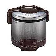 お取り寄せ RR-030VQT-DB-12A13A ガス炊飯器 都市ガス用 Rinnai リンナイ こがまる 0.5~3合 タイマー・電子ジャー付 RR030VQTDB12A13A ダークブラウン