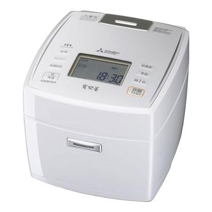 NJ-VE189-W ジャー炊飯器 MITSUBISHI 三菱電機 備長炭 炭炊釜 1升炊き NJVE189W ピュアホワイト
