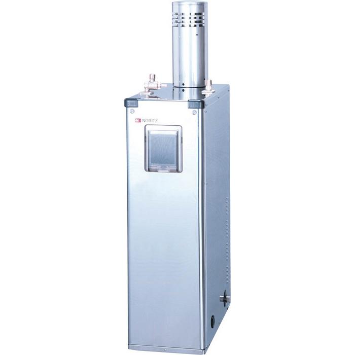 【メーカー直送】 代引不可 日時指定不可 離島不可 OX-H408YSV セミ貯湯式石油給湯機(高圧力型) ノーリツ 4万キロ 屋外据置形 ステンレス外装 減圧弁内蔵 OXH408YSV 0595501