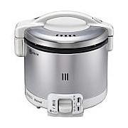 【北海道・沖縄・離島配送不可】RR-030FS-W-LP ガス炊飯器 プロパンガス用 Rinnai リンナイ こがまる 0.5~3合 炊飯専用 RR030FSWLP グレイッシュホワイト