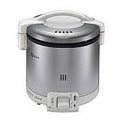 【北海道・沖縄・離島配送不可】RR-050FS-W-12A13A ガス炊飯器 都市ガス用 Rinnai リンナイ こがまる 1~5合 炊飯専用 RR050FSW12A13A グレイッシュホワイト