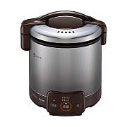 お取り寄せ RR-050VQ-DB-12A13A ガス炊飯器 都市ガス用 Rinnai リンナイ こがまる 1~5合 電子ジャー付 RR050VQDB12A13A ダークブラウン