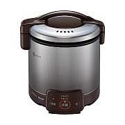 お取り寄せ RR-050VQ-DB-LP ガス炊飯器 プロパンガス用 Rinnai リンナイ こがまる 1~5合 電子ジャー付 RR050VQDBLP ダークブラウン