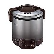 【北海道・沖縄・離島配送不可】RR-050VQT-DB-LP ガス炊飯器 プロパンガス用 Rinnai リンナイ こがまる 1~5合 タイマー・電子ジャー付 RR050VQTDBLP ダークブラウン