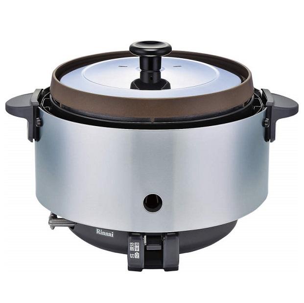 お取り寄せ RR-S15SF-LP 業務用ガス炊飯器 プロパンガス用 Rinnai リンナイ 1.5升炊き 涼厨タイプ Φ9.5mmガス用ゴム管接続 RRS15SFLP