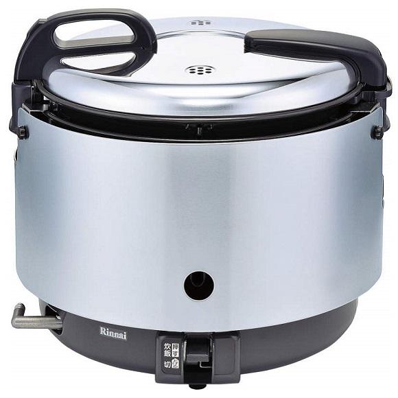 お取り寄せ RR-S15VNS-LP 業務用ガス炊飯器 プロパンガス用 Rinnai リンナイ 1.5升炊き ジャー付 涼厨タイプ Φ9.5mmガス用ゴム管接続 RRS15VNSLP