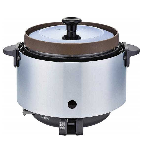 お取り寄せ RR-S20SF(A)-LP 業務用ガス炊飯器 プロパンガス用 Rinnai リンナイ 2升炊き 涼厨タイプ Φ9.5mmガス用ゴム管接続 RRS20SFALP