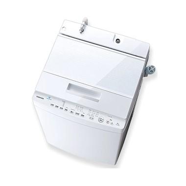 【時間指定不可】【離島配送不可】AW-7D8-W 全自動洗濯機 TOSHIBA 東芝 ZABOON 洗濯・脱水容量7.0kg AW7D8W グランホワイト
