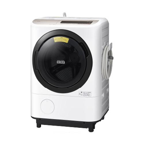 【日時指定不可】【離島配送不可】BD-NV120CL-N ドラム式洗濯乾燥機 HITACHI 日立 ビッグドラム 左開き 洗濯・脱水容量12kg/洗濯~乾燥・乾燥容量6kg BDNV120CLN シャンパン