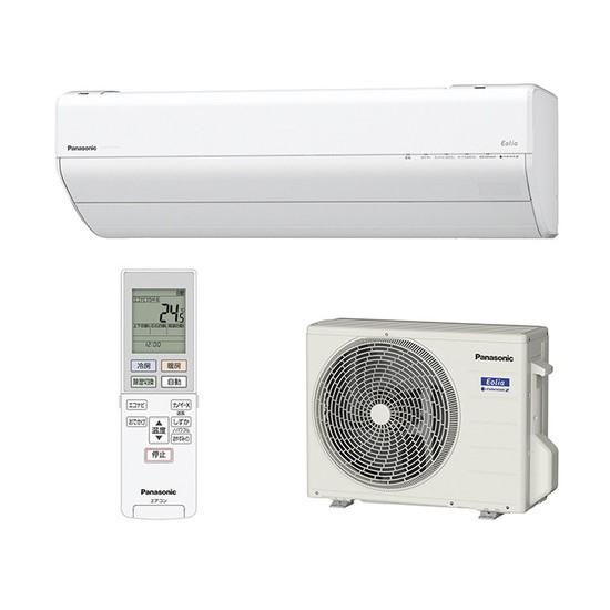 【時間指定不可】【離島配送不可】CS-GX228C-W ルームエアコン Panasonic パナソニック Eolia(エオリア) 2.2kW インバーター冷暖房除湿タイプ CSGX228CW クリスタルホワイト