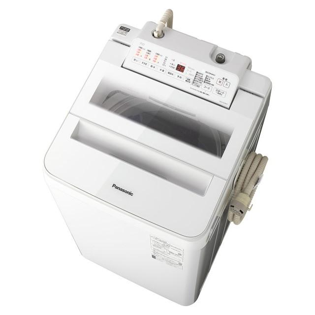 【時間指定不可】【離島配送不可】NA-FA70H7-W 全自動洗濯機 Panasonic パナソニック 洗濯・脱水容量7kg NAFA70H7W ホワイト
