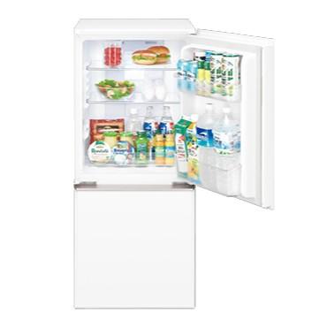 【時間指定不可】【離島配送不可】SJ-GD14E-W 冷蔵庫 SHARP シャープ 137L 2ドア つけかえどっちもドア(ガラスドア) SJGD14EW クリアホワイト【KK9N0D18P】