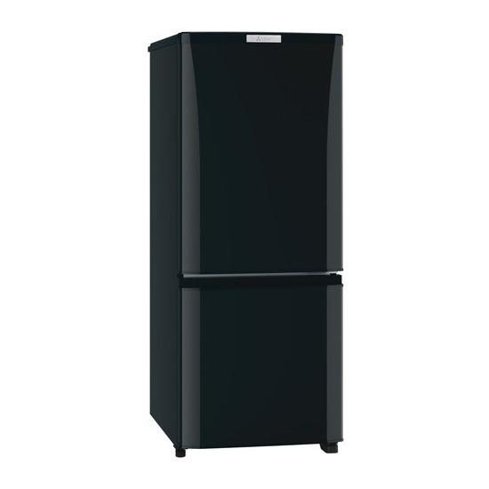 【時間指定不可】【離島配送不可】MR-P15E-B 冷蔵庫 MITSUBISHI 三菱電機 Pシリーズ 146L 2ドア MRP15EB サファイアブラック