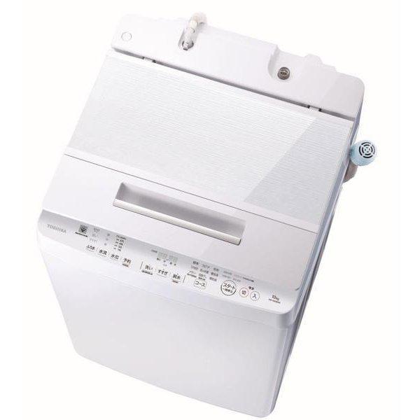 【日時指定不可】【離島配送不可】AW-10SD8-W 全自動洗濯機 TOSHIBA 東芝 ZABOON AW10SD8W グランホワイト