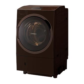 【日時指定不可】【離島配送不可】TW-127X8L-T ドラム式洗濯乾燥機 TOSHIBA 東芝 ZABOON(ザブーン) 左開きタイプ TW127X8LT グレインブラウン