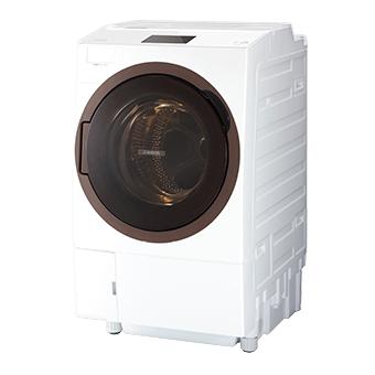 【日時指定不可】【離島配送不可】TW-127X8L-W ドラム式洗濯乾燥機 TOSHIBA 東芝 ZABOON(ザブーン) 左開きタイプ TW127X8LW グランホワイト