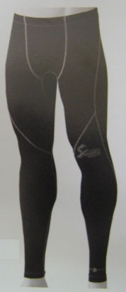 【送料無料】【久保田スラッガー クボタ】野球 ベースボール アンダーウェア NANOMIX(ナノミックス) ロングパンツ CG-1LP CG1LP ブラック×グレー