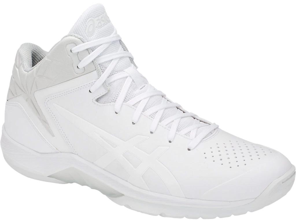 【送料無料】【asics アシックス】【シューズ 靴】 バスケットシューズ 1061A006 FWバスケット BASKETBALL / +AGILITY シューズ メンズ・ユニセックス GELTRIFORCE 3-narrow WHITE/WHITE 100[190217]